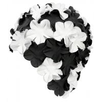 Casti de inot AQUA-SPEED BLOOM negru / alb 04/105 femei