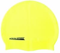 Casti de inot Aqua-speed Mega galben fluo 18/100