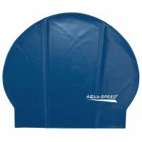 Casti de inot AQUA-SPEED SOFT LATEX albastru 02