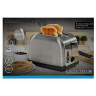 Daewoo Stainless Steel 2 Slice Toaster