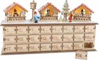 Decor Craciun Calendar Advent Craciun Market 40 Cm