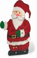 Decor Craciun Calendar Advent Mos Craciun Claus 55 Cm
