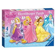 Disney Princess 4 Shape Puzzle