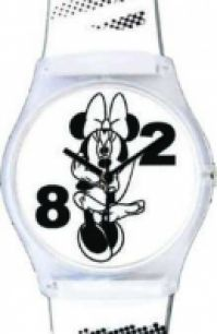 Ceas Disney Wrist Art - Minnie alb