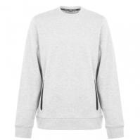 Bluze cu guler rotund DKNY Sport cu buzunar