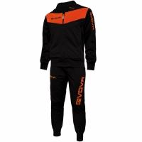 Trening sport Givova Visa negru-portocaliu fluo barbati/baietei