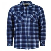 Camasa Dunlop cu fermoar Check Workwear pentru Barbati