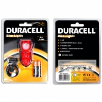 Lumina bicicleta Duracell pentru spate 3 LED 00914