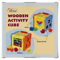 Early Learning lemn Activity Cube