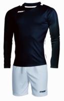 Echipament fotbal Barbados Nero Bianco Max Sport