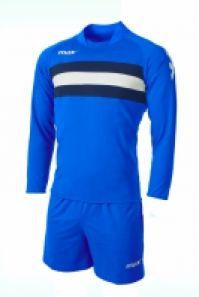 Echipament fotbal Como Royal Blu Bianco Max Sport