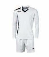 Echipament fotbal Cristallo Bianco Blu Max Sport