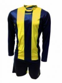 Echipament fotbal Desio Blu Giallo Max Sport