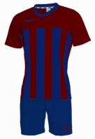 Echipament fotbal Elegant Rosso Blu Max Sport