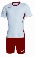 Echipament fotbal Fresh Bianco Rosso Max Sport