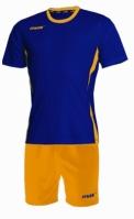 Echipament fotbal Fresh Blu Giallo Max Sport