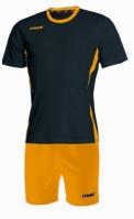 Echipament fotbal Fresh Nero Giallo Max Sport
