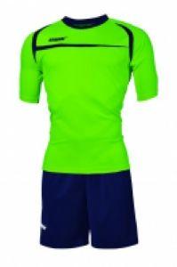 Echipament fotbal Hawaii Verde Fluo Blu Max Sport