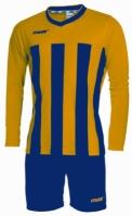 Echipament fotbal Match Giallo Blu Max Sport