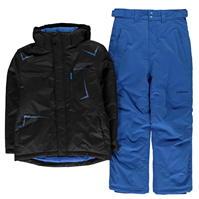 Echipament schi Campri negru and albastru pentru copii