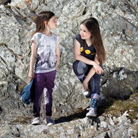 Tricou echitatie Novelty pentru fetite