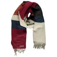 Esarfa echitatie Blanket Autumnal cu dungi