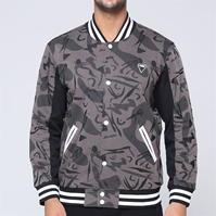 Jacheta Fabric Camo Bomber pentru Barbati