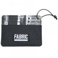 Fabric Graffiti Card Holder