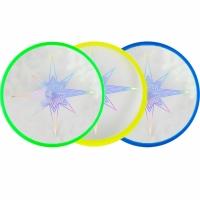 Farfurie Frisbee Aerobie Skylighter 3 Col verde galben albastru 6046475