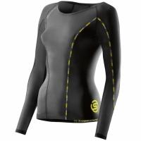 Bluza cu maneca lunga Skins Dnamic- negru DA99060059001 femei pentru copii