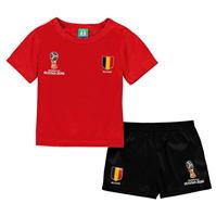 Set FIFA Cupa Mondiala 2018 Rusia Belgia pentru Bebelusi
