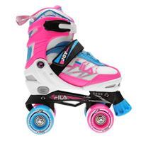 Fila Joy G Quad cu role Skates pentru fetite