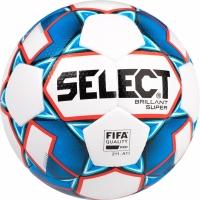 fotbal Select Brillant Super 5 FIFA 2019 alb albastru rosu 15004
