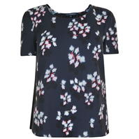 French Connection Floral Pleated Top