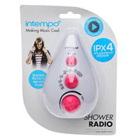 French Connection Shower Radio