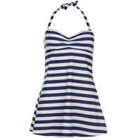 Full Circle Halter Strap Swimdress pentru Femei