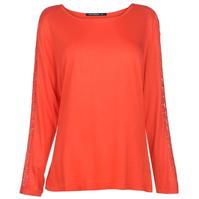 Full Circle Lace Sleeve Top pentru Femei