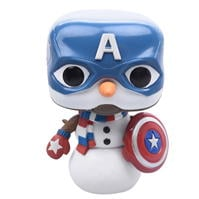Funko Pop Holiday Captain America Vinyl Figure