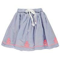 Fusta Crafted Essentials Embroidered pentru fete pentru Bebelusi