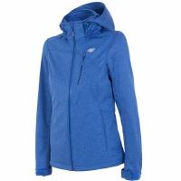 Jacheta softshell 4F H4L18 SFD002 albastru melange femei