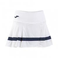 Fusta Joma Tenis 80 alb pentru Femei