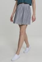Fusta mini plisata Jersey pentru Femei gri Urban Classics