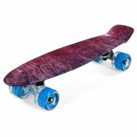 Placa skateboard METEOR multicolor galaxy 24476