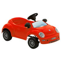 Gamesson Beetle rosu Pedal Car pentru Bebelusi