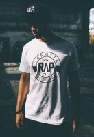 Tricouri rap Gangsta alb Mister Tee