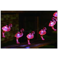 Garden Essentials Flamingo String Lights
