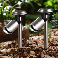 Garden Essentials Solar Spot Lights