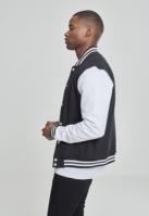Geaca american college negru-alb Urban Classics