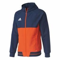 Bluza de trening adidas TIRO 17 bleumarin-portocaliu BQ2781 barbati