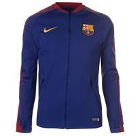 Jacheta Nike FC Barcelona Anthem pentru Barbati